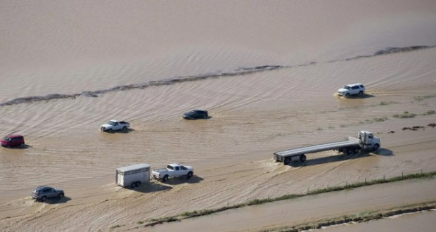 California flood: Hundreds rescued in San Jose as waters rise