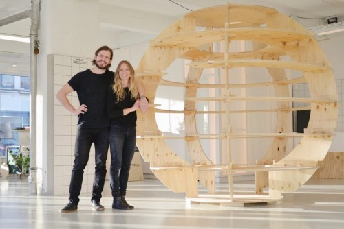 The innovative structure was tailored by architects Mads-Ulrik Husum and Sine Lindholm