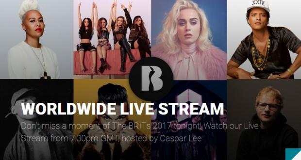 Watch the 2017 BRIT Awards Live Stream