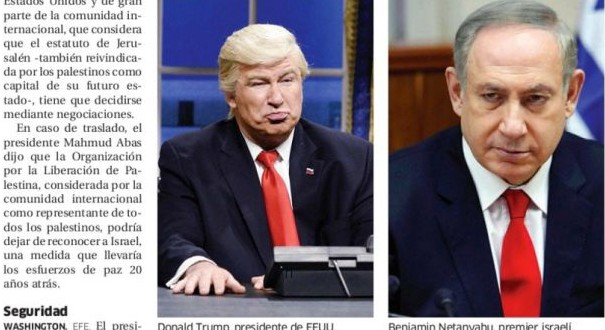 Paper Accidentally Runs Photo of Alec Baldwin Instead of Donald Trump