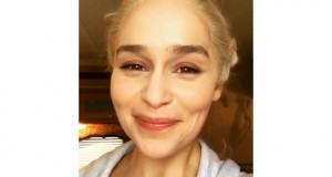Emilia Clarke closes out 'Game of Thrones' filming with an R. Kelly lip sync