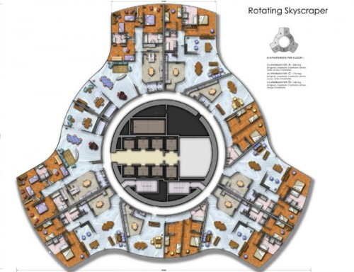 Dubai Is Now Building A Rotating Skyscraper