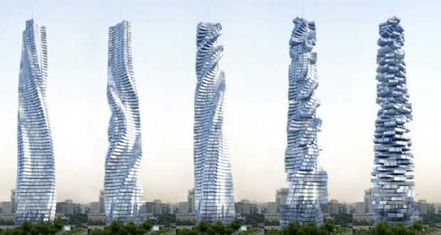 Dubai Is Now Building A Rotating Skyscraper Where Every Apartment Will Spin Individually