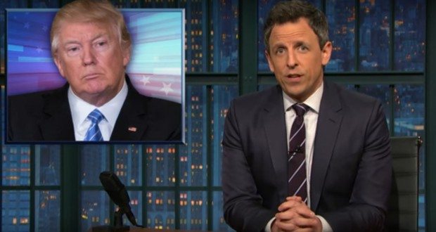 Seth Meyers suggests what Trump will say in his first address to Congress