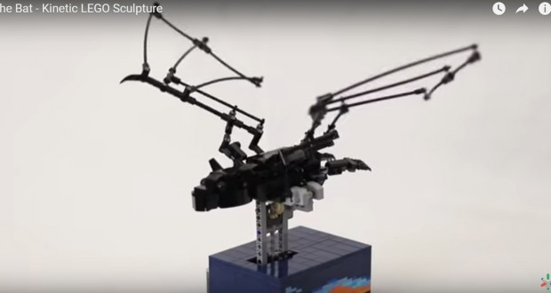 Cleverly Engineered Lego Bat Flaps Its Wings Just Like the Real Thing