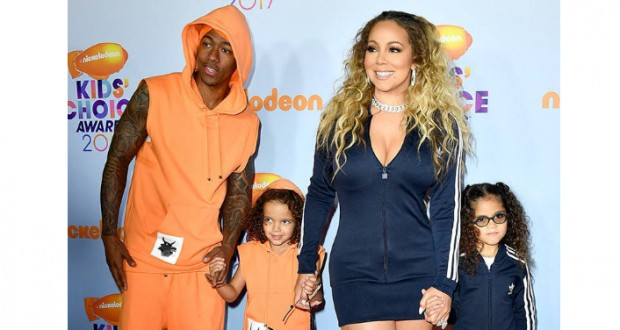 """Mariah Carey, Nick Cannon and """"Dem Kids"""" Are the Perfect Match During Family Day at the 2017 Kids' Choice Awards"""