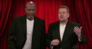 See Samuel L. Jackson Reenact Violent Film Career With James Corden