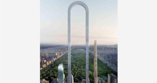 New York City Architecture Studio Imagines 'World's Longest Skyscraper' in Manhattan