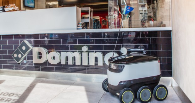 Domino's and Starship Technologies will deliver pizza by robot in Europe this summer