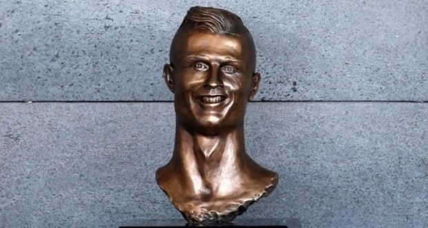 Cristiano Ronaldo bust sculptor defends his bizarre design - 'Even Jesus did not please everyone'