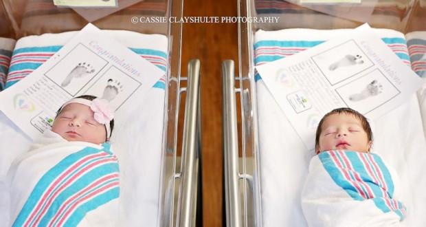 """Star crossed babies"": Newborns named Romeo and Juliet born hours apart"