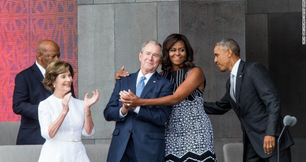 George W. Bush explains his fondness for Michelle Obama - CNN