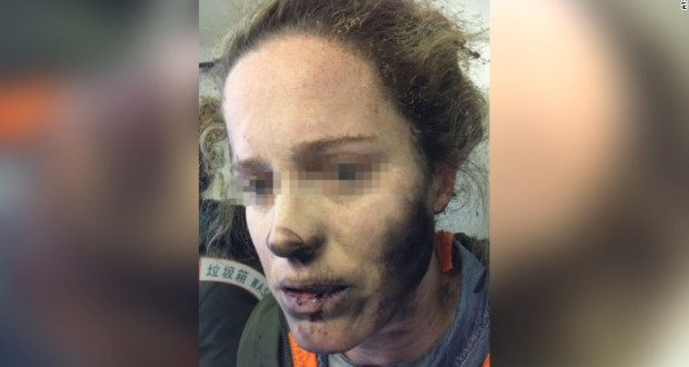 Airline passenger's headphones catch fire midflight
