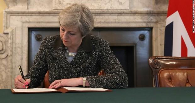 Brexit begins: UK triggers Article 50 to begin EU divorce
