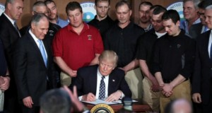 Trump signs order dismantling Obama-era climate policies