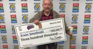 World War ll Veteran Gets $300,000 Winning Lottery Ticket For His 94th Birthday