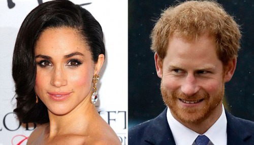 Meghan Markle accompanies prince Harry as he performs usher duties at his friend's wedding in Jamaica