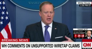 WH Press Secretary: Trump didn't mean wiretapping when he tweeted about wiretapping