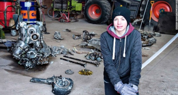 Boy finds WWII plane with pilot's remains in cockpit