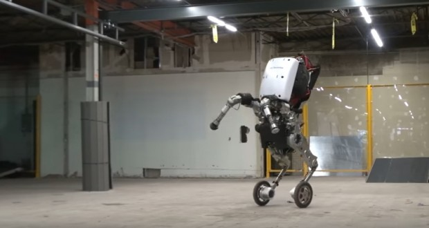 Boston Dynamics' New Rolling, Leaping Robot Is an Evolutionary Marvel - Video