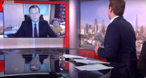 BBC Presenter Tries To Be Serious During Interview, Forgets He Has Children