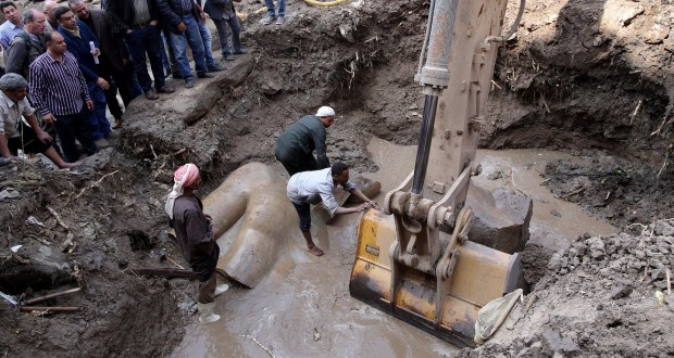 Pharaoh Ramses II Statue Found In Cairo