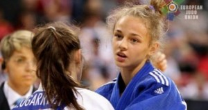Ukrainian judo talent Daria Bilodid wins gold at European Open Prague
