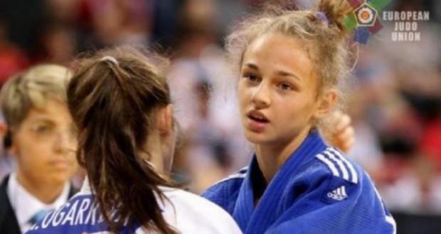Ukrainian judo talent Daria Bilodid wins gold at European Open Prague