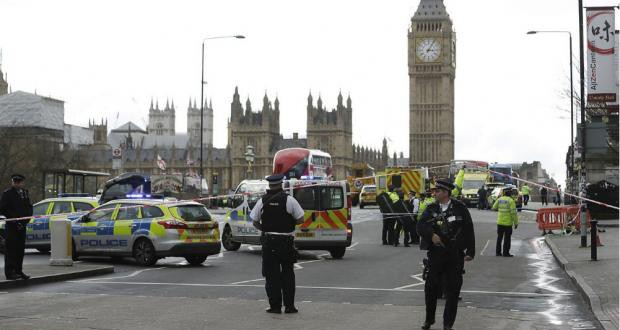 London attack: Five dead in Westminster terror attack