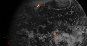 Satellite Shows Lightning Strikes From Space - Video