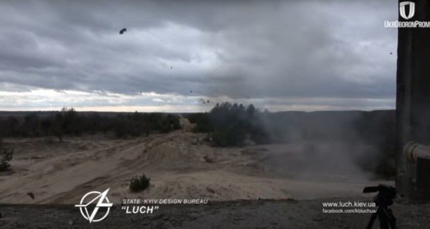 Ukraine test-fires brand new anti-tank missiles - video