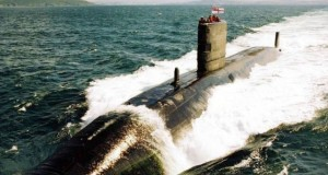 Nuclear submarine plans found in charity shop in UK