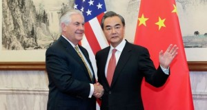 China urged Rex Tillerson to be 'cool-headed' over North Korea