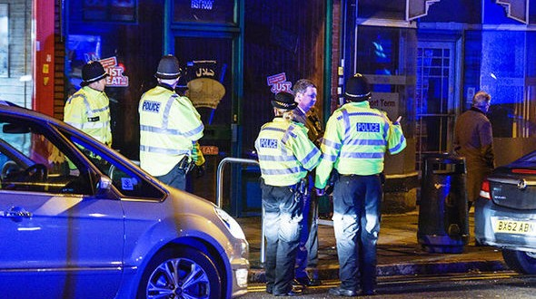 British police storms address in Birmingham just hours after London terror attack