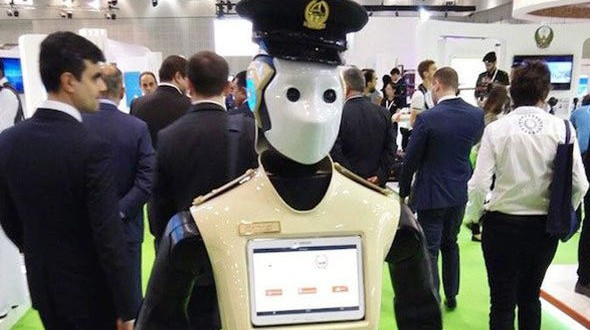 Robot police officers will soon replace humans in Dubai