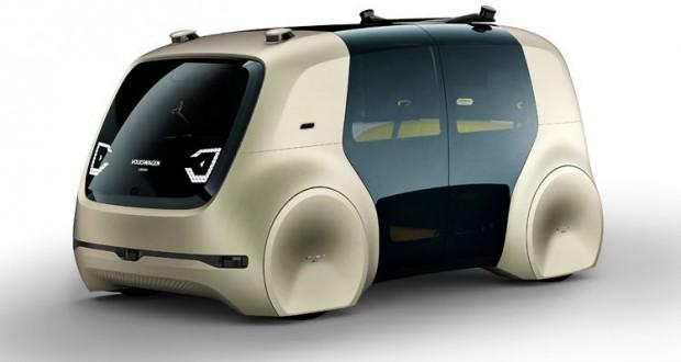 Volkswagen says this self-driving van concept is fully autonomous