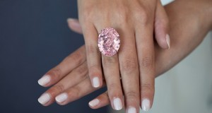 $60 Million Pink Star Diamond Back To Be Auctioned By Sotheby's