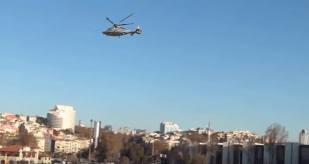 The astonishing 'magic helicopter' that appears to fly without using its rotors