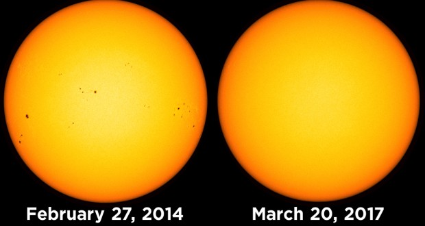 The Sun Has Been Spotless For More Than 15 Days Now