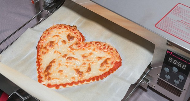 A Startup Raises $1 Million For 3D Food Printers That Make Pizzas