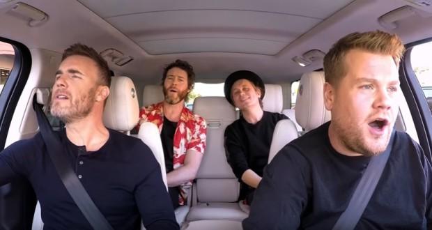 Take That Carpool Karaoke is 15 minutes of sweet, sweet happiness