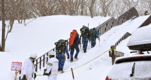 Eight students feared dead in avalanche in Japan