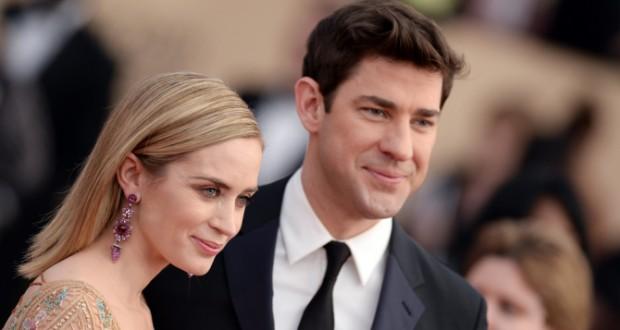 Emily Blunt and John Krasinski Will Star in 'Quiet' Thriller Together