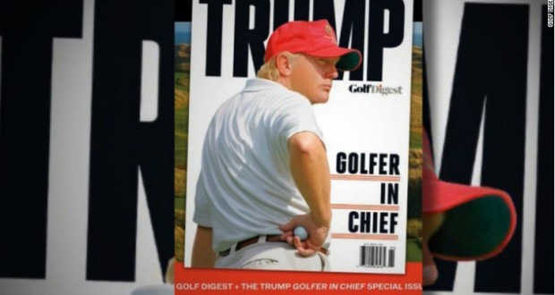 Donald Trump notches his 13th golf course visit