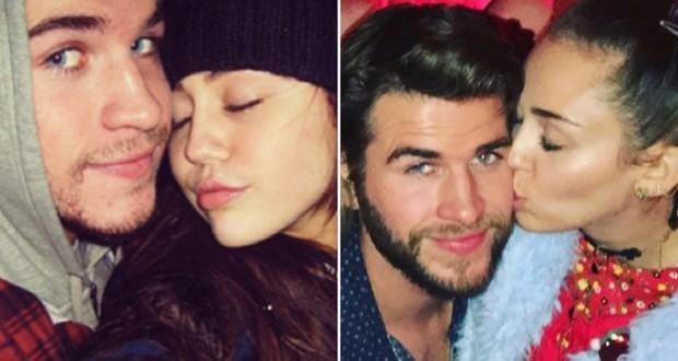 Miley Cyrus & Liam Hemsworth seen after having dinner in Malibu