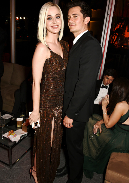 Katy Perry and Orlando Bloom DAVE M. BENETT/VF17/WIREIMAGE