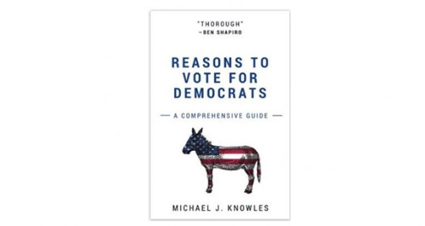 'Reasons to Vote for Democrats' with blank pages jumps to top of Amazon's bestseller list
