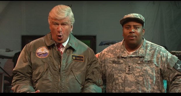 Alec Baldwin's Trump Can't Rally The Troops And Ivanka Is 'Complicit' On 'SNL'
