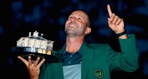 Sergio Garcia finally wins U.S. Masters