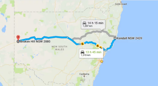 A 12-Year-Old Boy Drove About 1300 Kilometres Before He Was Pulled Over